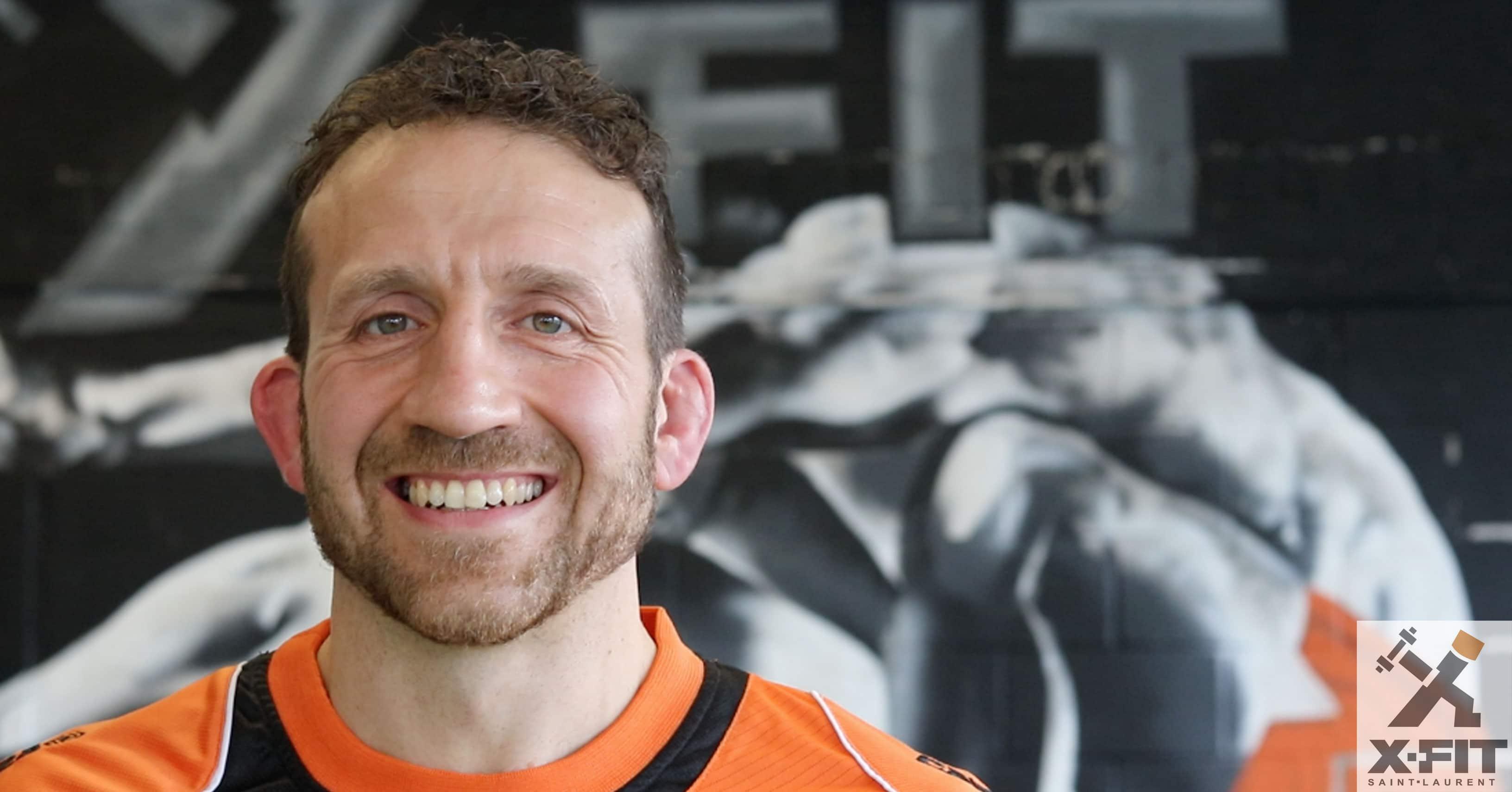 Derek Della Rocca personal trainer gym montreal X-fit